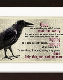 Edgar Allan Poe The Raven Print