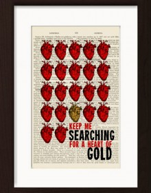 Neil Young Heart Of Gold Print