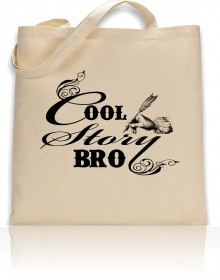 Tote Bag Cool Story Bro Print