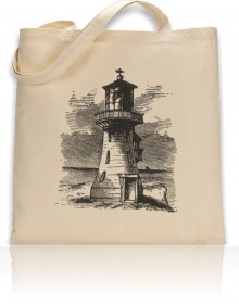 Tote Bag William Lighthouse Marine Print