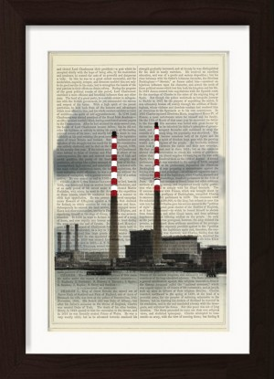 Poolbeg red and white chimneys to stay