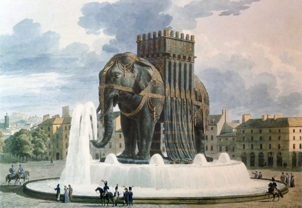 Bastille Elephant Paris